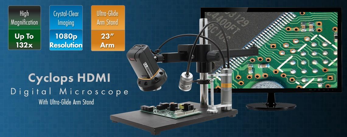 Cyclops HDMI + Ultra Glide Stand